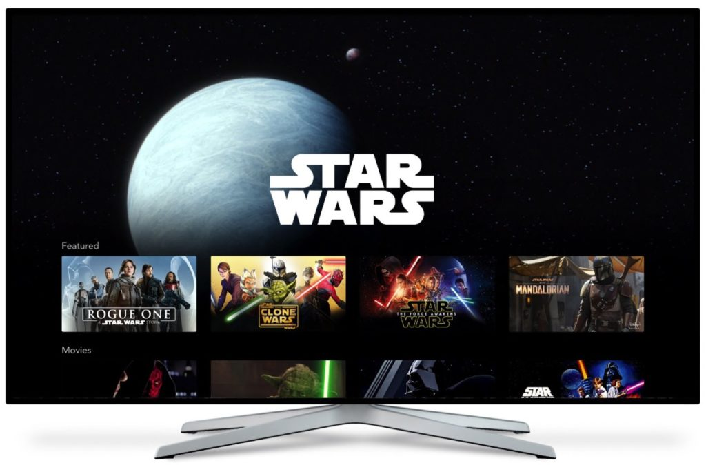 interface-disney-plus-star-wars-1024x675 Assinatura básica do Disney Plus: 7 perfis e 4 telas simultâneas em 4K