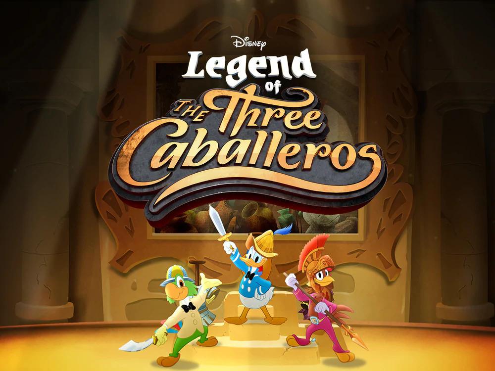 A-Lenda-do-Tres-Cabelleros A Lenda dos Três Caballeros | Série com Pato Donald, Zé Carioca e Panchito Pistoles em breve no Disney+