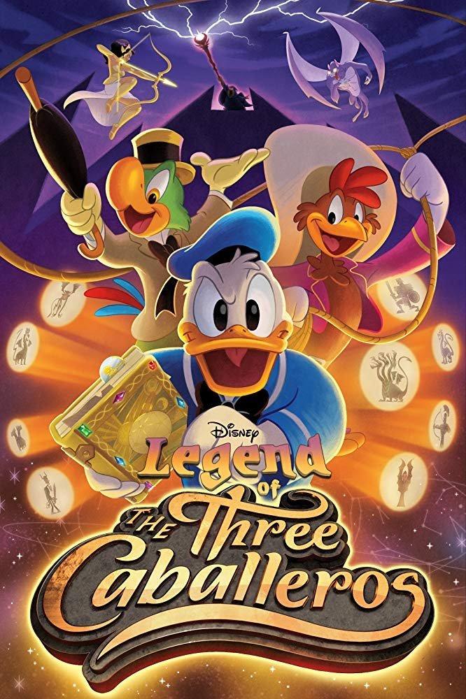Legend_of_the_Three_Caballeros_Poster A Lenda dos Três Caballeros | Série com Pato Donald, Zé Carioca e Panchito Pistoles em breve no Disney+