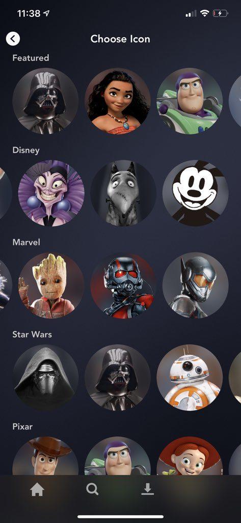perfis-473x1024 App do Disney+ alcança 1º lugar em lançamento antecipado na Holanda