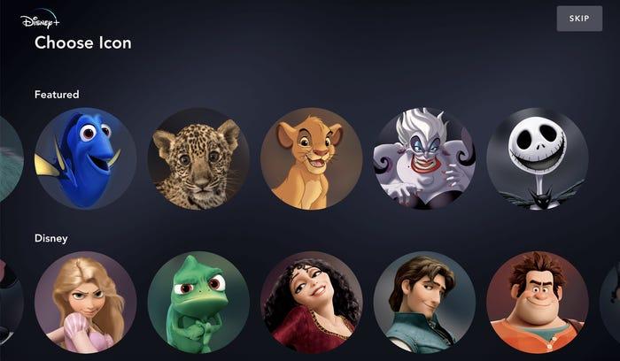 icones-disney-plus Quantos perfis o Disney Plus permite?