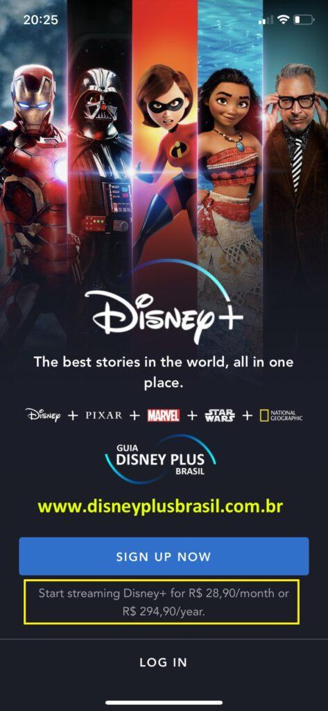 App-Disney-Plus-Android-473x1024 Preço do Disney+ já aparece em Reais: R$ 28,99/mês ou R$ 289,99/ano