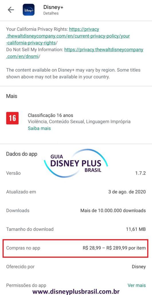 App-Disney-Plus-Play-Store-531x1024 Preço do Disney+ já aparece em Reais: R$ 28,99/mês ou R$ 289,99/ano
