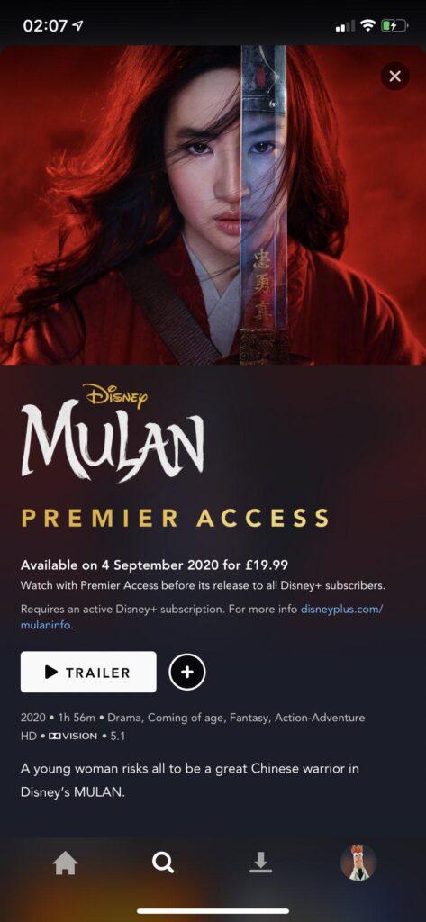 Mulan-Disney-Plus-Europa-Acesso-Premier-473x1024 Divulgados os preços de Mulan via Acesso Premier na Europa e Oceania