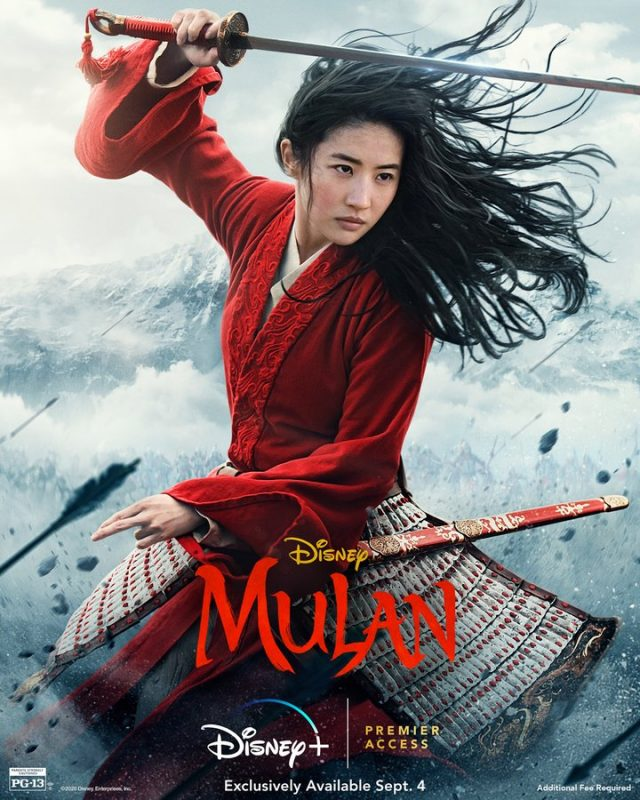 Mulan-Poster-Disney-Plus-Brasil Mulan: Trailer eletrizante acaba de ser lançado pela Disney! Confira!