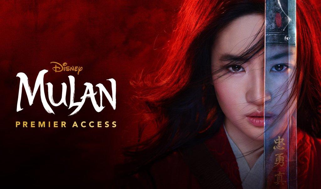 Mulan-Premier-Access-Disney-Plus Mulan foi visto 4,5 milhões de vezes no Disney+ na semana de estreia nos EUA