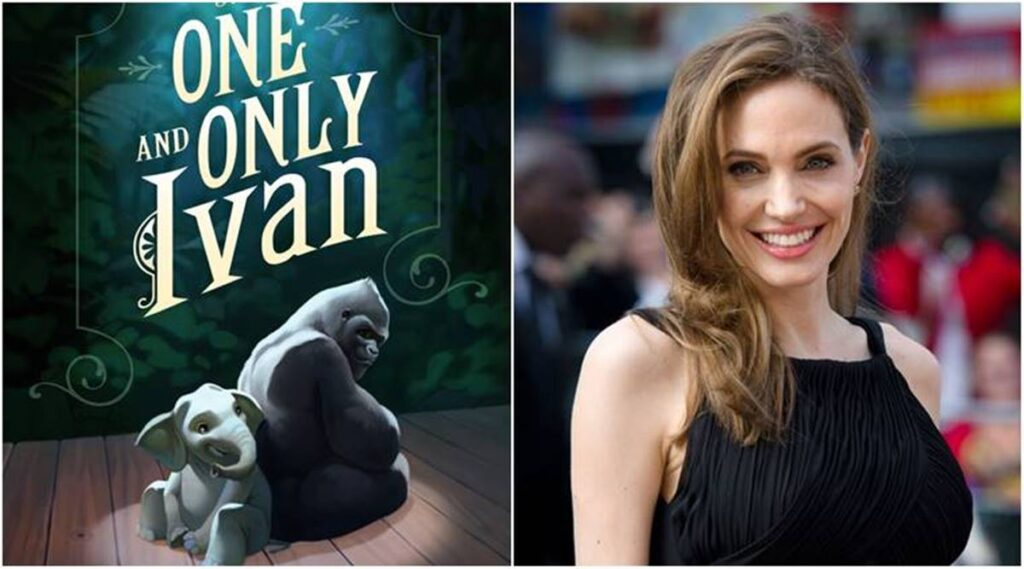 The-One-and-Only-Ivan-Disney-Plus-Angelina-Jolie-1024x569 The One And Only Ivan: Novo vídeo de divulgação com Angelina Jolie