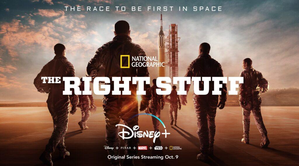 The-Right-Stuff-Disney-Plus-capa-1024x569 Confira as 10 estreias de hoje no Disney+, incluindo o curta do Olaf