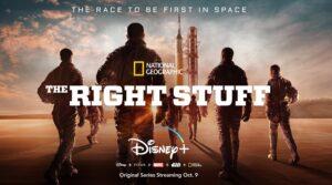 Os Eleitos The Right Stuff Disney Plus e National Geographic