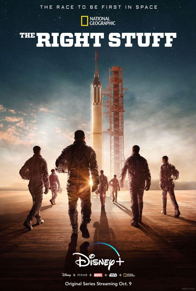 The-Right-Stuff-Disney-Plus Os Eleitos: Série sobre primeiros astronautas americanos no Disney+
