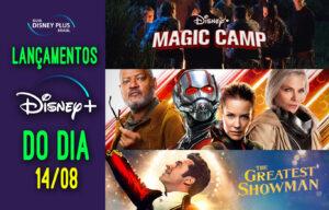 Lançamentos Disney Plus do dia