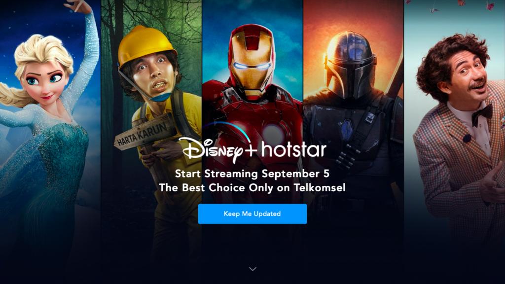 Disney-Plus-Hotstar-Indonesia-1024x576 Disney+ é lançado na Indonésia com preço ainda menor que a Índia