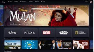 Mulan impulsiona downloads Disney Plus app