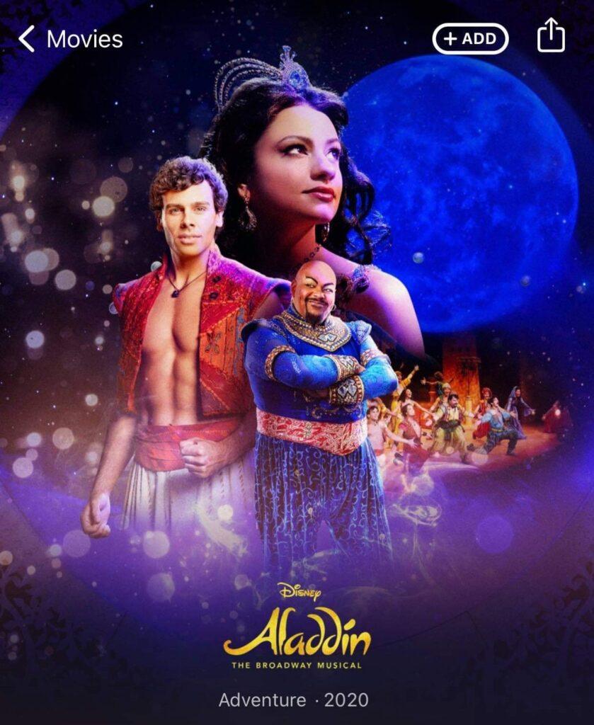 Musical-Aladdin-Disney-Plus-promocional-839x1024 Aladdin: Musical da Broadway e Londres pode chegar ao Disney+ em Abril