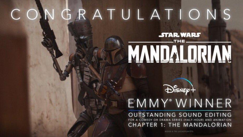 The-Mandalorian-Emmy-Melhor-Edicao-de-Som The Mandalorian leva 5 prêmios Emmy e pode ganhar mais