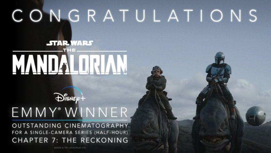 The-Mandalorian-Emmy-Melhor-Efeito-Visual The Mandalorian leva 5 prêmios Emmy e pode ganhar mais
