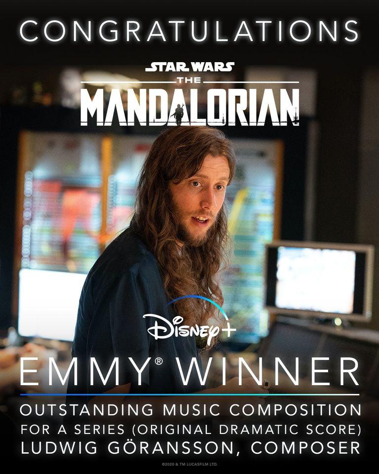 The-Mandalorian-Emmy-Melhor-Trilha-Sonora Trilha Sonora da 2ª Temporada de 'The Mandalorian' Já Está Disponível
