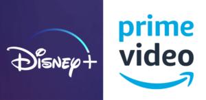 Disney Plus e Amazon Prime Video