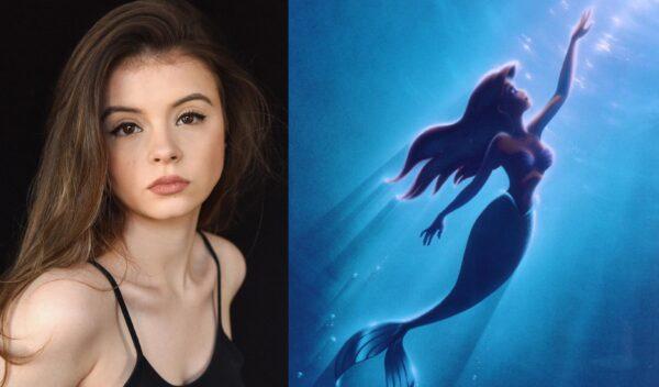 """Emily-Coates-A-Pequena-Sereia-Disney-Plus Nova versão de """"A Pequena Sereia"""" terá Emily Coates da série Cursed"""