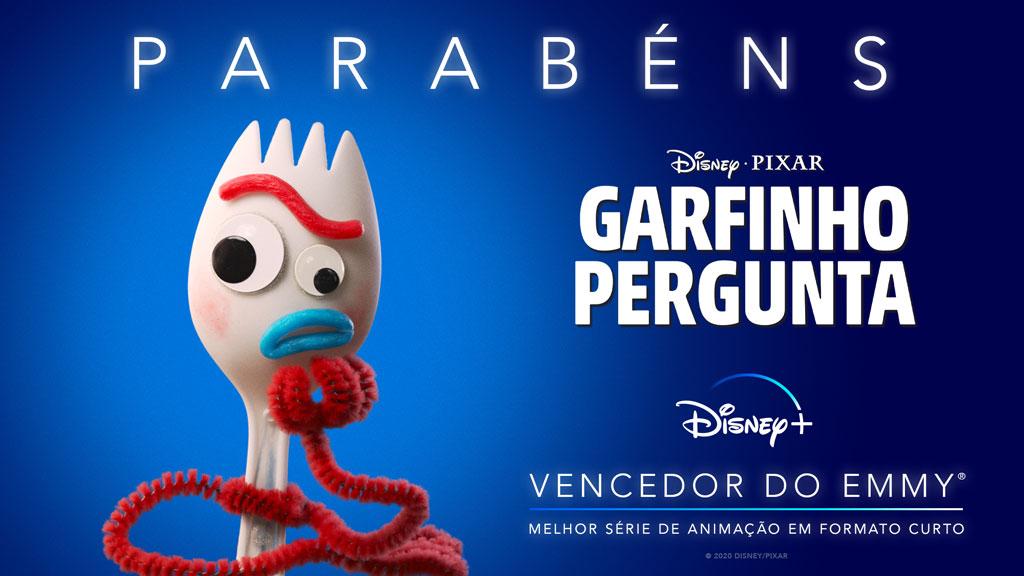 """Garfinho-Pergunta-Emmy Disney+ lança trailer em Português de """"Garfinho Pergunta"""", da Pixar"""