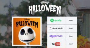 Halloween Playlist Disney
