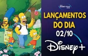 Lançamentos Disney Plus do dia 02-10-20