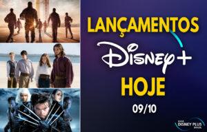 Lançamentos Disney Plus do dia 09-10-20