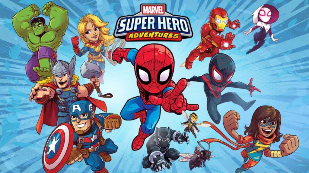 Marvel-Aventuras-dos-Super-herois Confira as 10 estreias de hoje no Disney+, incluindo o curta do Olaf