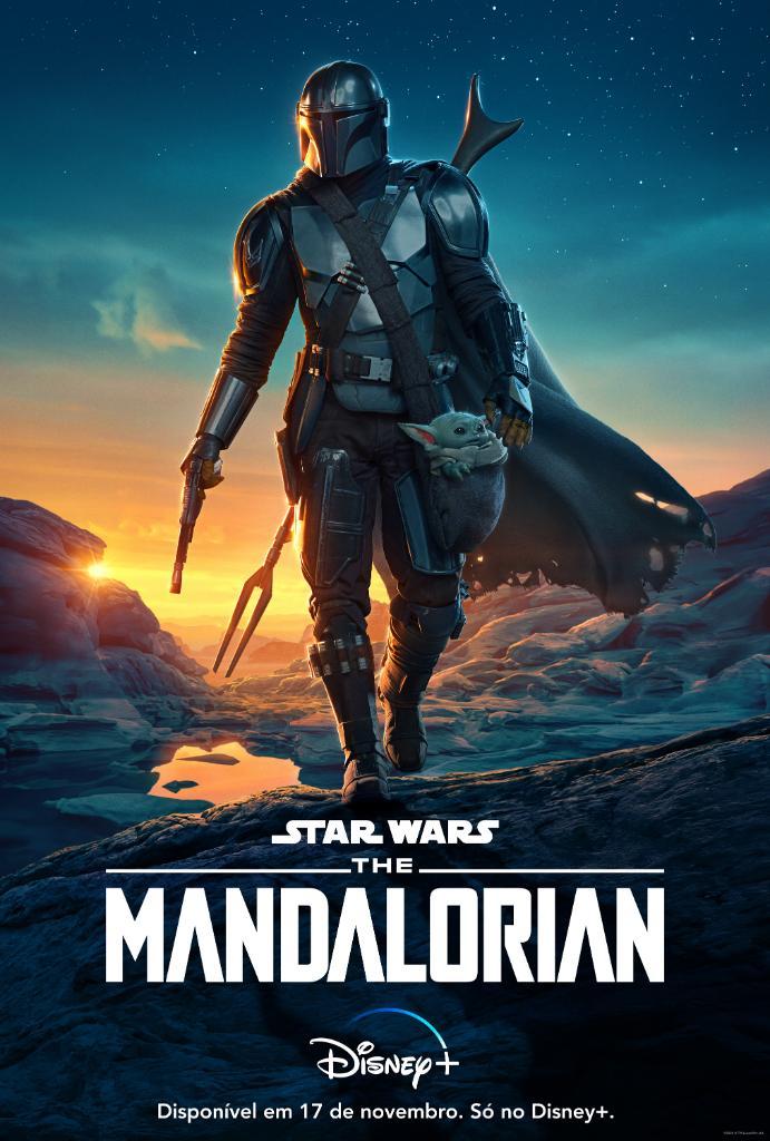 """Poster-The-Mandalorian-segunda-temporada Já viu os novos pôsteres de """"The Mandalorian"""" e """"Os Eleitos""""?"""