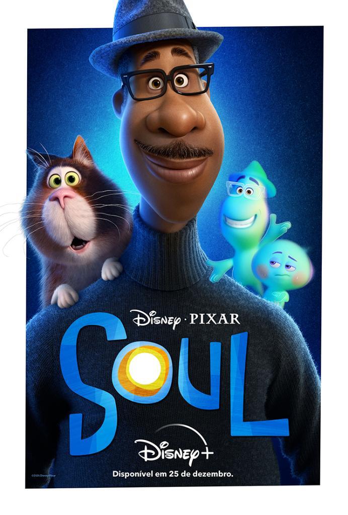 Soul-Poster Disney Plus inicia contagem regressiva para estreia de Soul, da Pixar