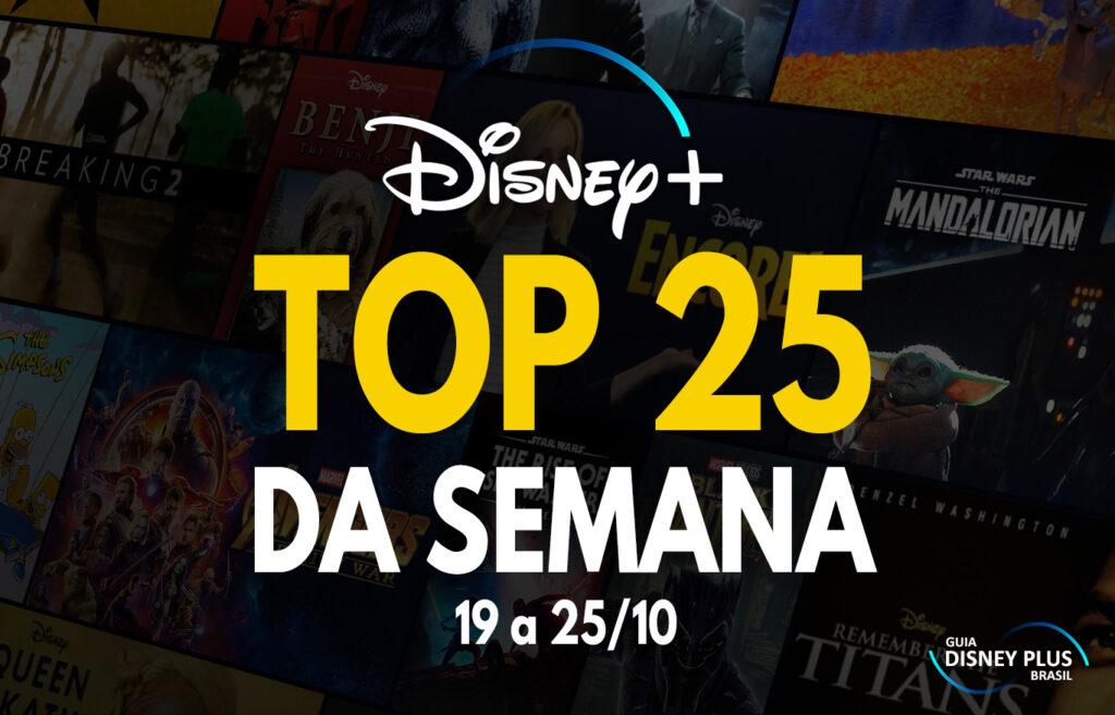 """TOP-25-trending-semanal-25-10-1024x657 Top 25 da Semana - Curta do Olaf toma o 1º lugar de """"Os Simpsons"""""""