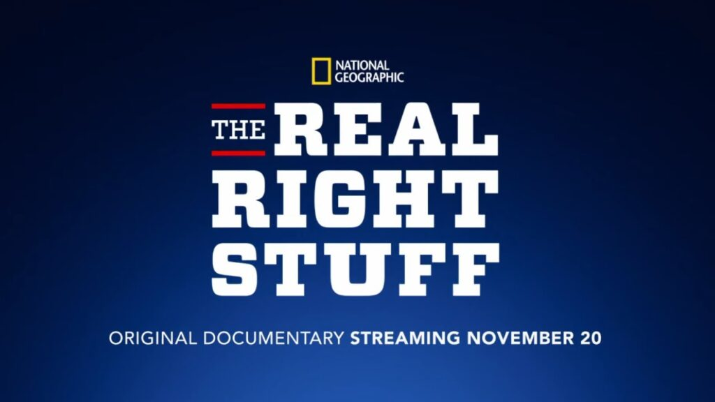 "The-Real-Right-Stuff-Capa-1024x576 Documentário ""The Real Right Stuff"" da Nat Geo em breve no Disney+"