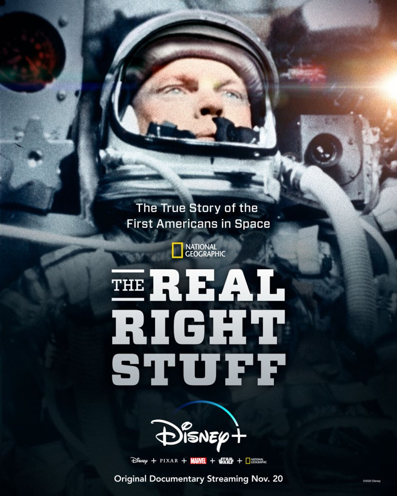 "The-Real-Right-Stuff-Disney-Plus Documentário ""The Real Right Stuff"" da Nat Geo em breve no Disney+"