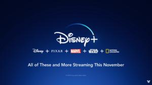 Disney Plus lançamentos novembro