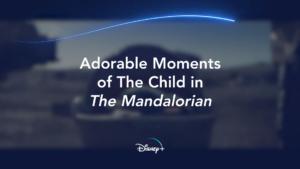 Momentos adoráveis de baby Yoda A Criança The Child
