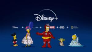 Os Simpsons Disney Plus
