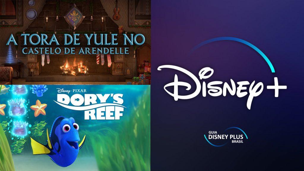 A-Tora-de-Yule-no-Castelo-de-Arendelle-e-Dorys-Reef-Cam-1024x576 Conteúdos Especiais de Frozen II e Dory chegam em 18/12 no Disney+