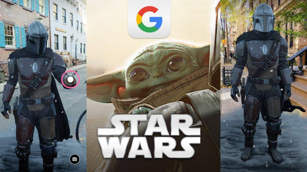 App-The-Mandalorian-Realidade-Aumentada-1024x576 Google Lança 'The Mandalorian' em App de Realidade Aumentada