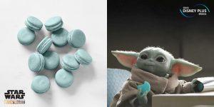 Biscoitos Azuis Baby Yoda