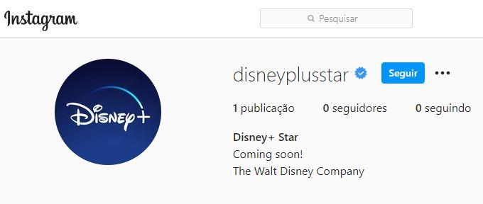 Disneyplusstar-Instagram Disney Prepara Lançamento do Star, seu Novo Serviço de Streaming