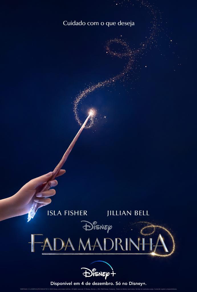 """Fada-madrinha-Poster Disney revela Trailer, Pôster e Data da Comédia """"Fada Madrinha"""" no Brasil"""
