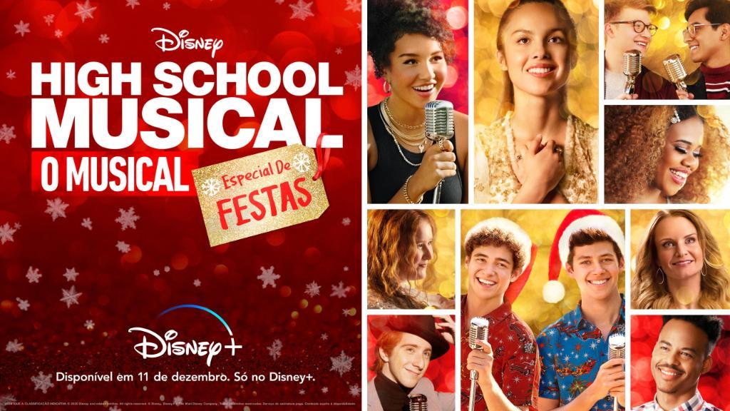 """High-School-Musical-O-musical-Especial-de-Festas Especial de Festas de """"High School Musical: O Musical"""" estreia em 11/12"""