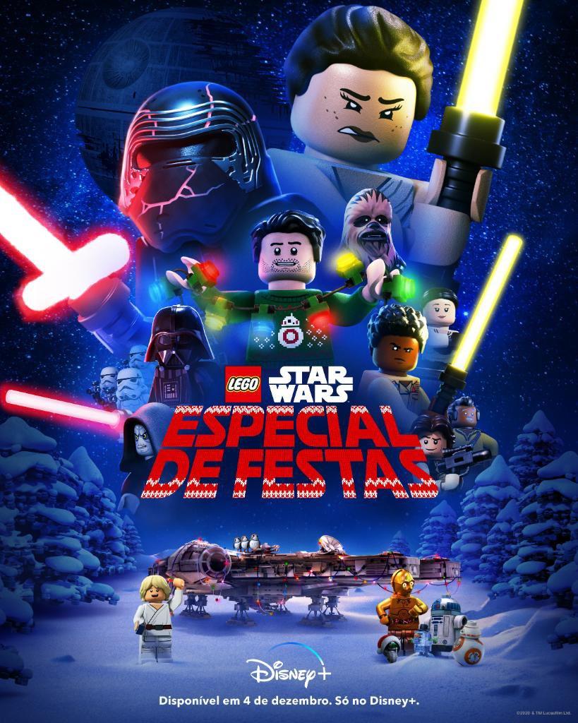 Poster-LEGO-Star-Wars-Especial-de-Festas LEGO Star Wars Especial de Festas já tem Data e Trailer para o Brasil!