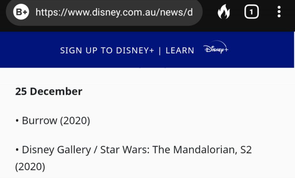 "Print-Disney-Austraalia-Gallety-The-Mandalorian-Segunda-Temporada-1024x620 ""Disney Gallery: The Mandalorian"" terá 2ª Temporada no Disney Plus"