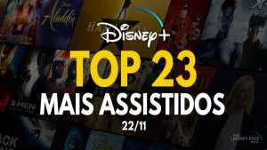 TOP 23 Mais Assistidos 22-11 Disney Plus