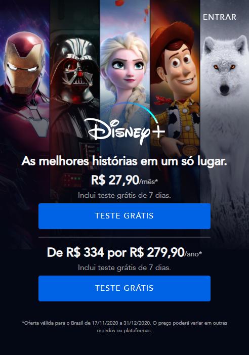 image-123 Qual é o preço do Disney+ ?