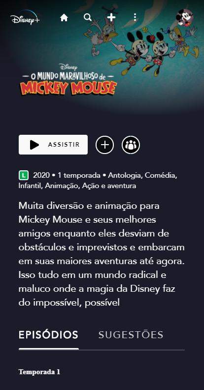 image-129 'O Mundo Maravilhoso de Mickey Mouse' Já Está Disponível no Disney+
