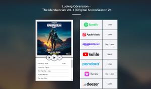 Trilha Sonora segunda temporada The Mandalorian