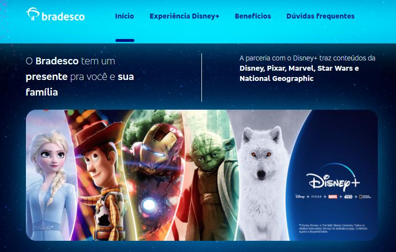 image-23 Bradesco oferece aos Clientes até 6 Meses Grátis do Disney+