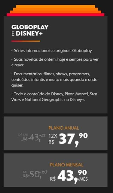 image-27 Globo Anuncia Parceria com a Disney e Pacote Globoplay com Disney+